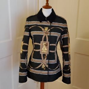 Rare Burberry Patterned Fernhill Jacket